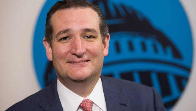 Sen. Ted Cruz (R-Texas) speaks to USA TODAY's Susan Page.
