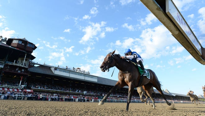 Embellish the Lace scored a win in Saturday's Alabama at Saratoga.