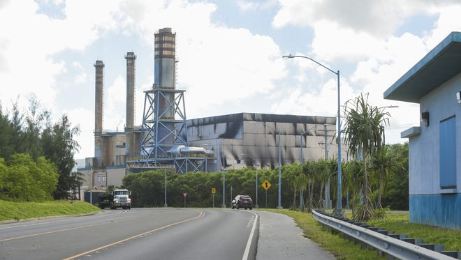 GPA's Cabras Power Plant in Piti.