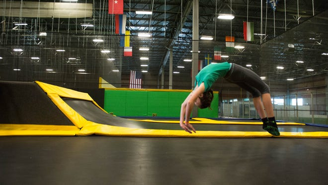 Lansing is getting its first extreme indoor trampoline center from Get Air.