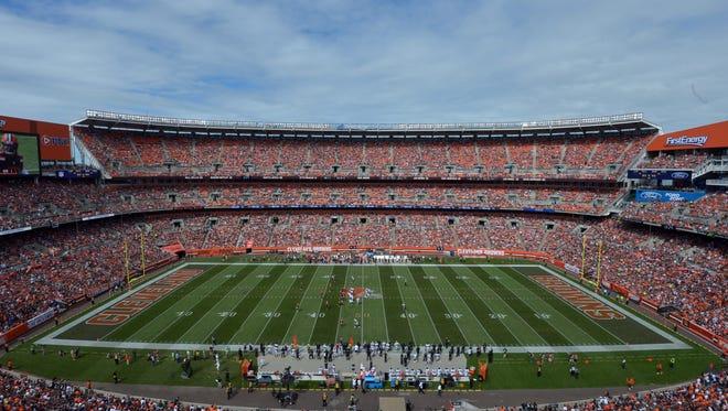 FirstEnergy Stadium in Cleveland.