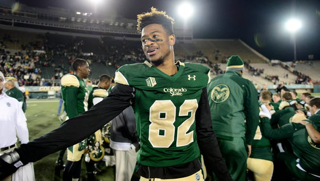 Under Armour will continue to provide the uniforms, footwear and other apparel worn by Rashard Higins and other CSU athletes under terms of a new five-year contract extension announced Wednesday. CSU will receive $2.2 million a year in gear from Under Armour from 2016-2021, athletic director Joe Parker said.