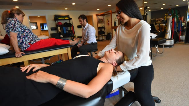 Patients get treated at Monmouth Pain and Rehabilitation in Red Bank.