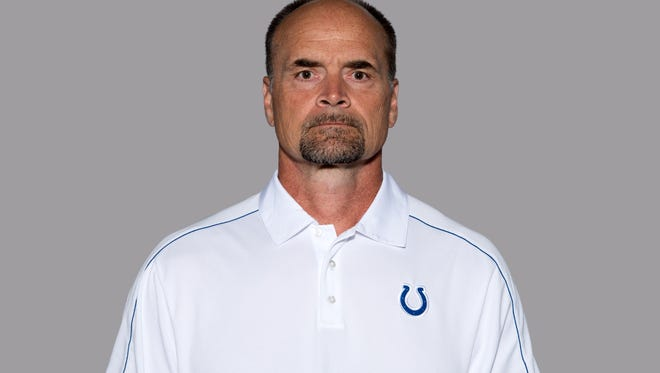 Hal Hunter had been with the Colts since 2013.