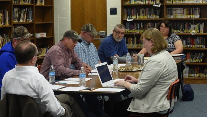 The Cotter School Board discussed its first steps in finding a new superintendent on Thursday, Jan. 14, 2016. Cotter Superintendent Don Sharp announced his retirement in December 2015.