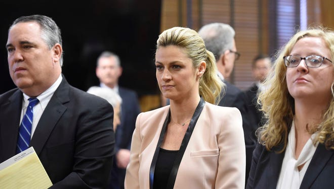 Erin Andrews was in court Tuesday in Nashville for her civil lawsuit before Judge Hamilton Gayden.