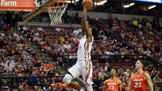 Mail Beasley scored 20 points in FSU's 78-73 win over Syracuse.