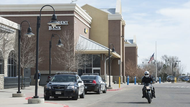 Fort Collins police respond to a shoplifting call at Walmart,, 1250 E. Magnolia St., on  March 3. Police responded to 616 calls to the site last year, the most of any location in Fort Collins.
