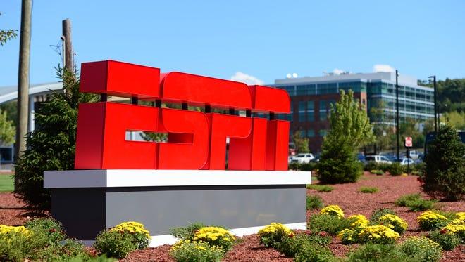 ESPN campus in Bristol, Conn.