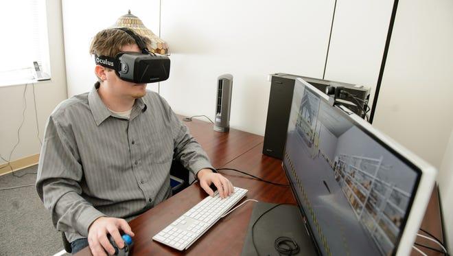 Virtual reality training programs will use tools like the Oculus Rift