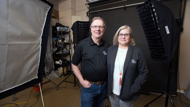 Jim and Barbara Pavlic own Binghamton photography studio Pavlik Photo and Design.