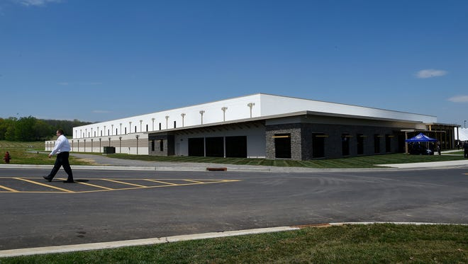 An exterior of at the new BERETTA U.S.A. Corp state-of-the-art manufacturing facility. Friday April 15, 2016, in Gallatin, TN