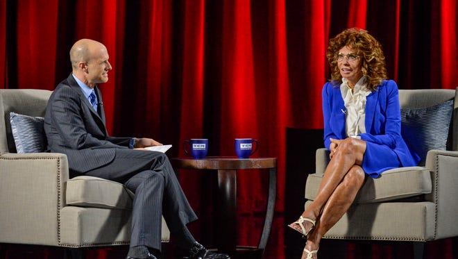 Sophia Loren and her son Edoardo Ponti at the  TCM Classic Film Festival.