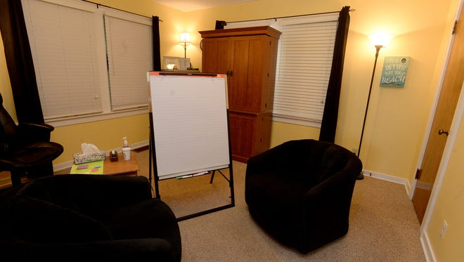 The interview room at JACY House in Richmond Friday, April 29, 2016. The JACY house provides a non-intrusive, non-threatening safe environment for interviewing victims and/or witnesses of suspected child abuse.