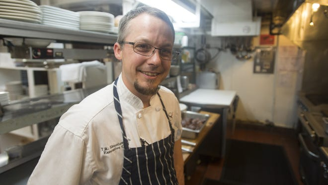 T.R. Shuttleworth has held the position as executive chef at Sonny Lubick Steakhouse for about two years.