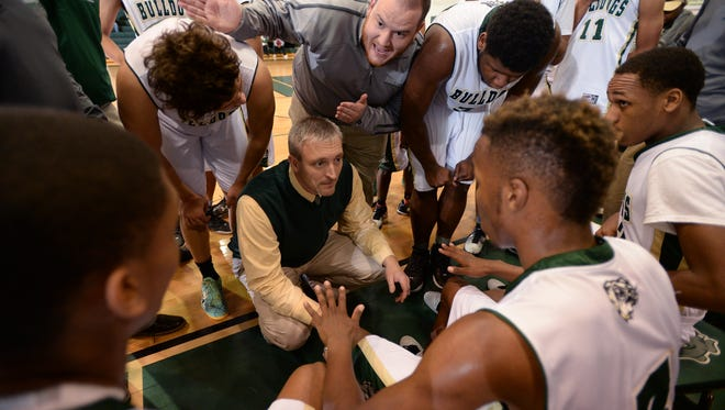 Austin Reid, top center, an assistant at Berea the past three seasons, has been named to lead the basketball program at Pickens.