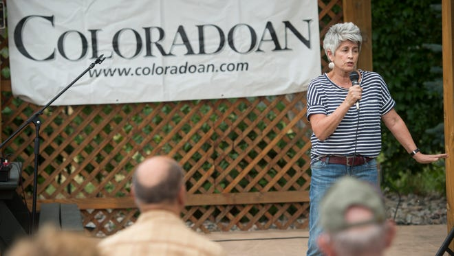 Coloradan storytellers share tales of outdoor misadventure at Jax Outdoor Gear Wednesday, June 29, 2016.