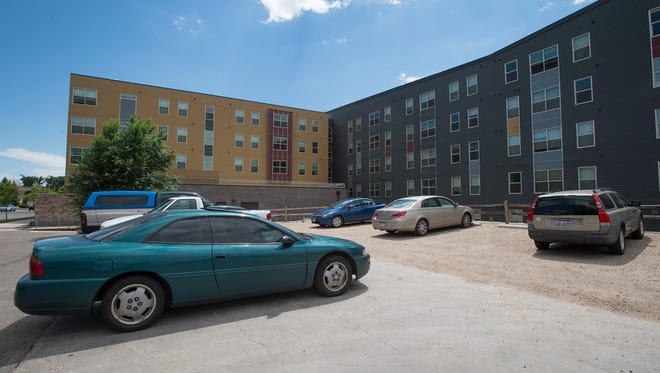 Core Spaces, the owner of The Summit student housing on South College Avenue  has proposed a new project of 10 town homes on a small parking lot next to the apartments.