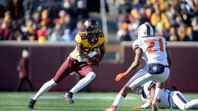 Former Andress football player Rashad Still figures to be one of Minnesota's top receivers this season. He caught 18 passes last year as a true freshman.