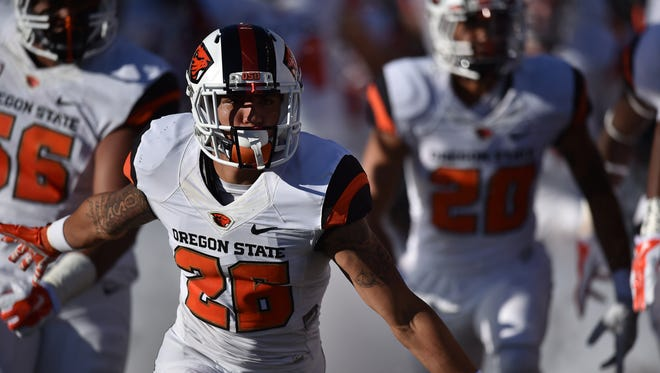 OSU safety Devin Chappell is one of the most experienced players in the Beavers' secondary.
