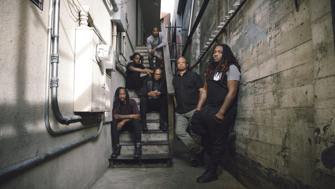 Brooklyn-based reggae band, New Kingston, is playing at the Side Bar this Sunday, October 2.