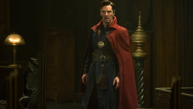 Benedict Cumberbatch stars as Dr. Strange in the latest Marvel installment. Photo Credit: Jay Maidment..©2016 Marvel. All Rights Reserved.