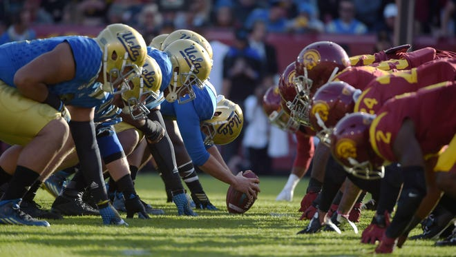 UCLA vs. USC is among this week's college football games to watch.