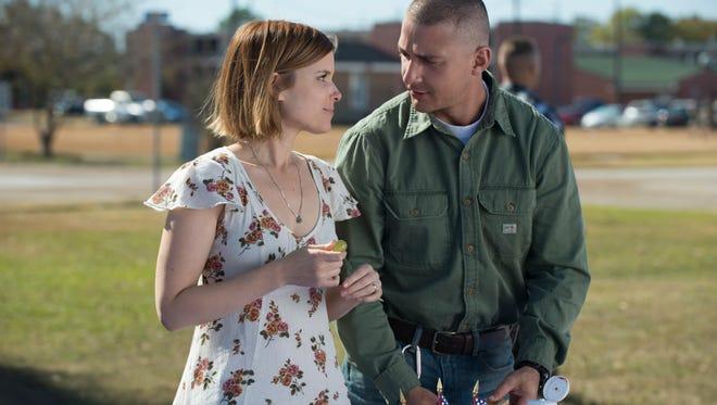 "Kate Mara and Shia LaBeouf star in ""Man Down."""