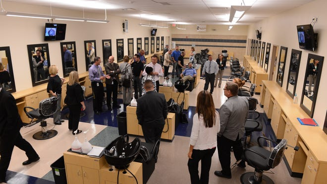 In fall of 2014 Butler Tech opened a cosmetology program to juniors and seniors at Northwest High School's Career Center building. A student-run salon opens Wednesday.