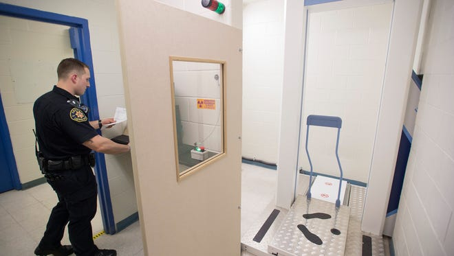 Larimer County Jail is now implementing a body scanner in jail intake procedures.