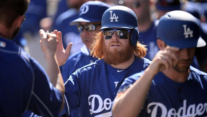 Justin Turner re-signed with the Dodgers over the winter.