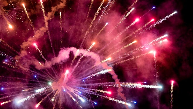 Montgomery has July 4 fireworks shows at Blount Cultural Park in the east and downtown after the Montgomery Biscuits baseball game at Riverwalk Stadium.