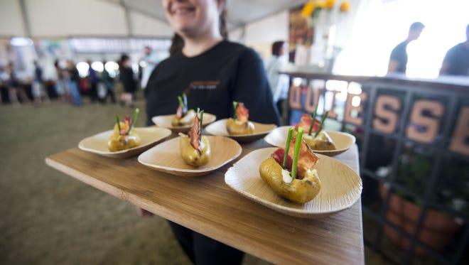 The azcentral.com Food & Wine Experience returns Nov. 4-5 to Salt River Fields at Talking Stick.
