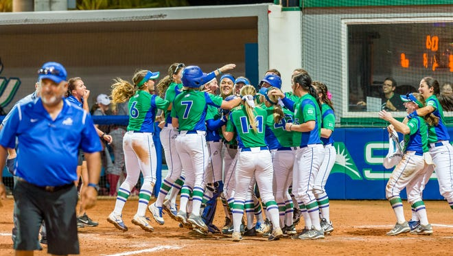 FGCU split on Thursday and is 2-1 in the ASUN tournament. With a win against Lipscomb at 1:30 p.m. Friday, the Eagles would make the semifinals.