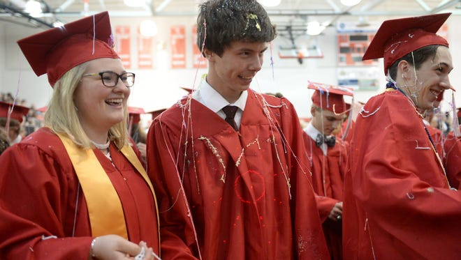 Scenes from the 2017 Commencement ceremonies at Riverheads High School, Monday, May 22.