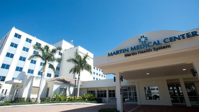 Martin Medical Center, located at 200 S.E. Hospital Ave. in Stuart, is a nonprofit hospital with 399 beds.