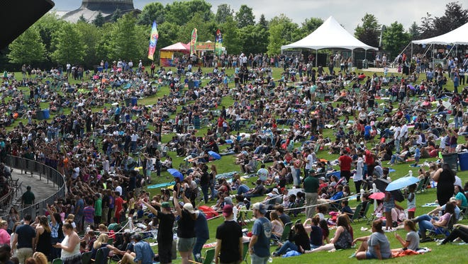Scenes from KFEST 2017, held at Bethel Woods Center for the Arts in Bethel.