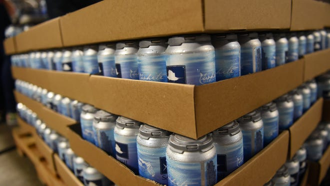 "Sailfish Brewing Company is now canning its flagship beer, White Marlin Wit. ""We want to see people on boats and the (Fort Pierce) Inlet with cans of White Marlin,"" said head brewer Dave Cavasinni. ""When you open your fridge, there's a Sailfish six-pack in there."""