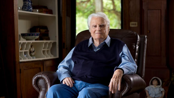 The Rev. Billy Graham, who lives in Montreat, turns 99 on Nov. 7.