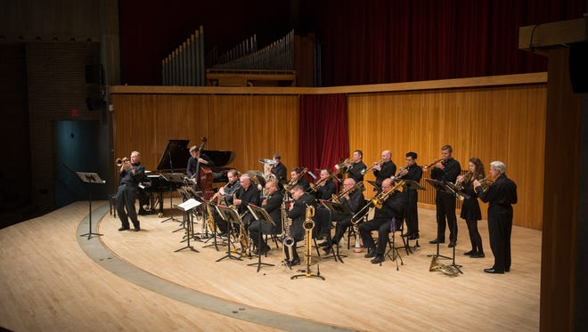 """The Central Wisconsin Jazz Ensemble will present """"East Meets West"""" with performances on Jan. 5-6, 2018."""