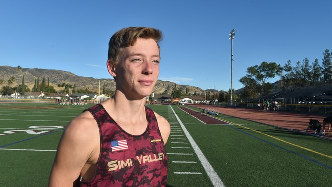 Andrew Teasdale, Simi Valley High School, Cross Country and Track