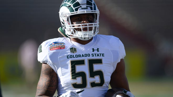 Linebacker Josh Watson, the leading tackler on CSU's football team last season and again this year, is a cousin of 1978 Heisman Trophy winner Billy Sims and another former NFL player. He hopes to follow them into pro football and has developed and followed a plan to get there.