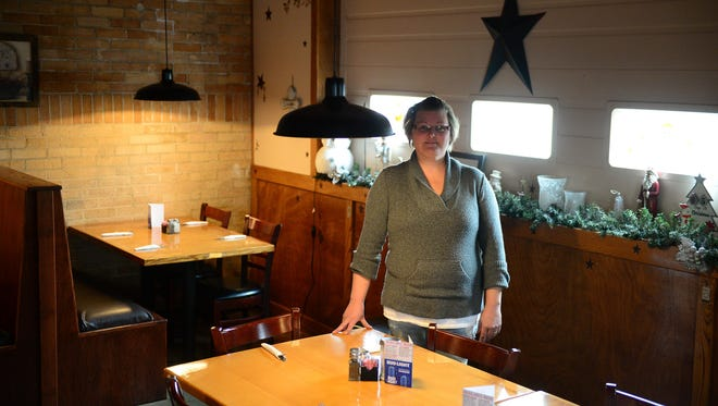 Nancy Cole, owner of Valor House, stands in the restaurant in Pittsville on Wednesday, Dec. 20.