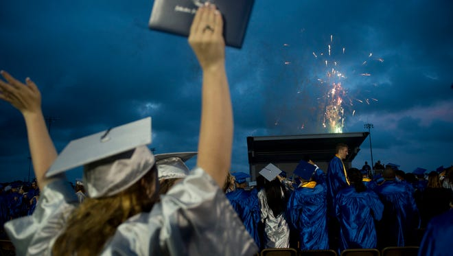 Graduation rates in Martin, St. Lucie and Indian River counties were above the state average in 2016-17.