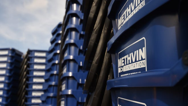 Methvin Sanitation has announced that it will hold its spring pickup of large items for customers living inside the Mountain Home city limits the week of April 19-22.