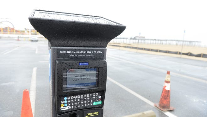 """Solar-powered kiosks will take over the old """"pay-and-display"""" method, where visitors used to exhibit a printed receipt, according to an Ocean City town release. Friday, March 30, 2018."""
