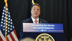 Andrew Cuomo says his poll numbers took a hit for same-sex marriage support. They didn't.