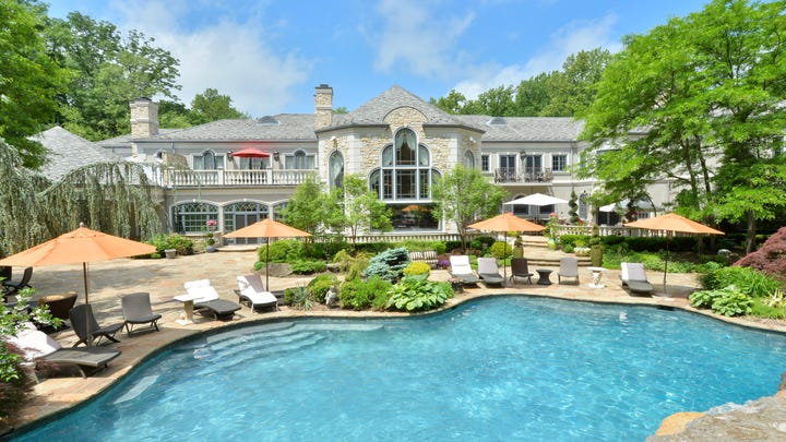 On The Market Russell Simmons Former Saddle River Mansion Listed At 189 Million