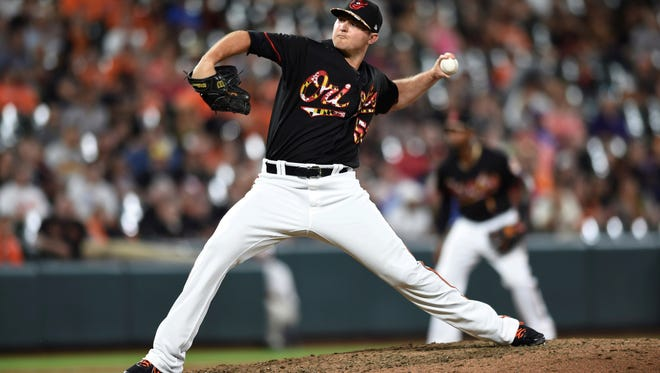Baltimore Orioles pitcher Zach Britton has been traded to the New York Yankees. AP FILE PHOTO