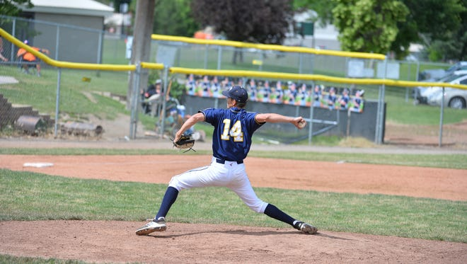 Matt Houlihan will be on the mound Saturday morning when the Great Falls Chargers open State AA Legion tournament play against the Bozeman Bucks in Kalispell.
